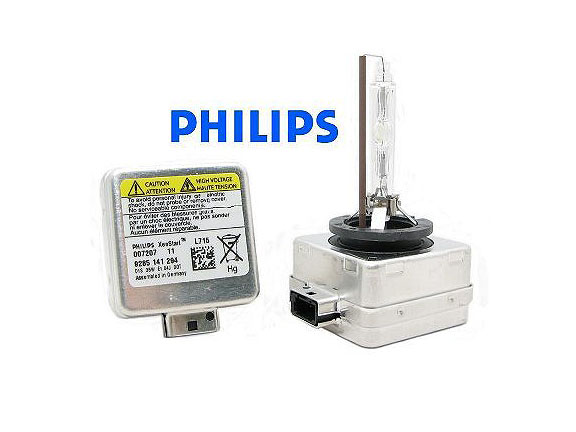 Лампа ксенон D1S Philips 12V 35W metal base