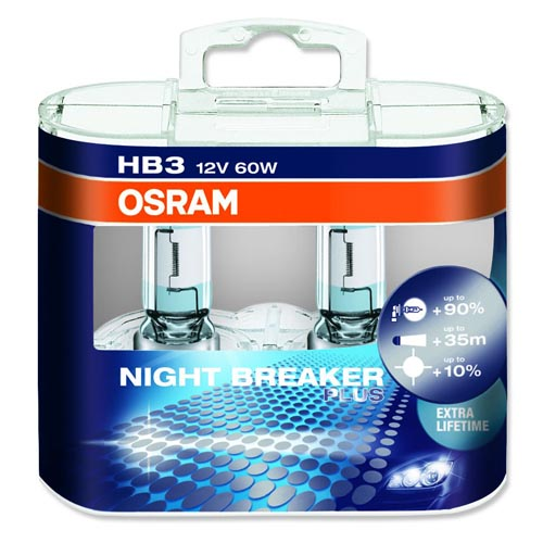 Osram Night Breaker Plus +90% HB3