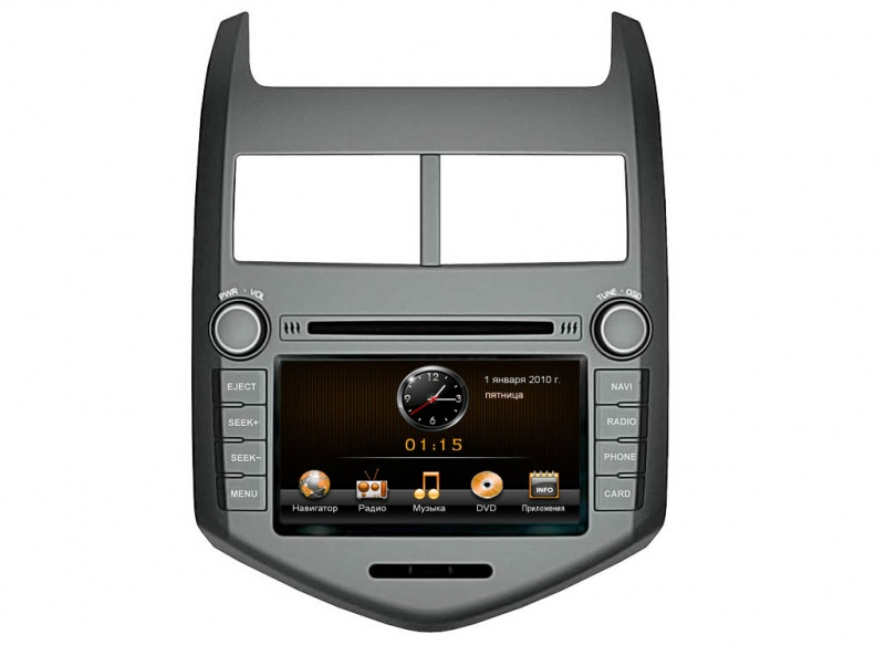 Intro CHR-3117 AV Chevrolet Aveo 2012-  Windows