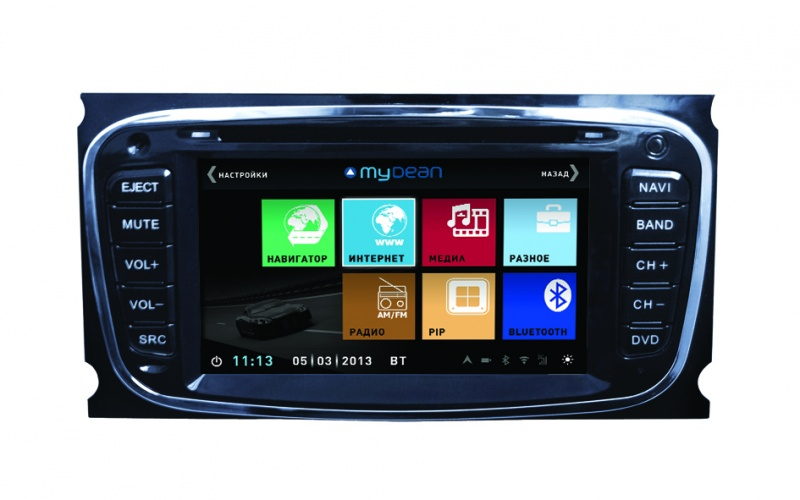 Mydean 3003 Ford Focus 2 (2005-2011), Mondeo (2006-2013),  C-Max (2008-), Galaxy (2008-) Windоws