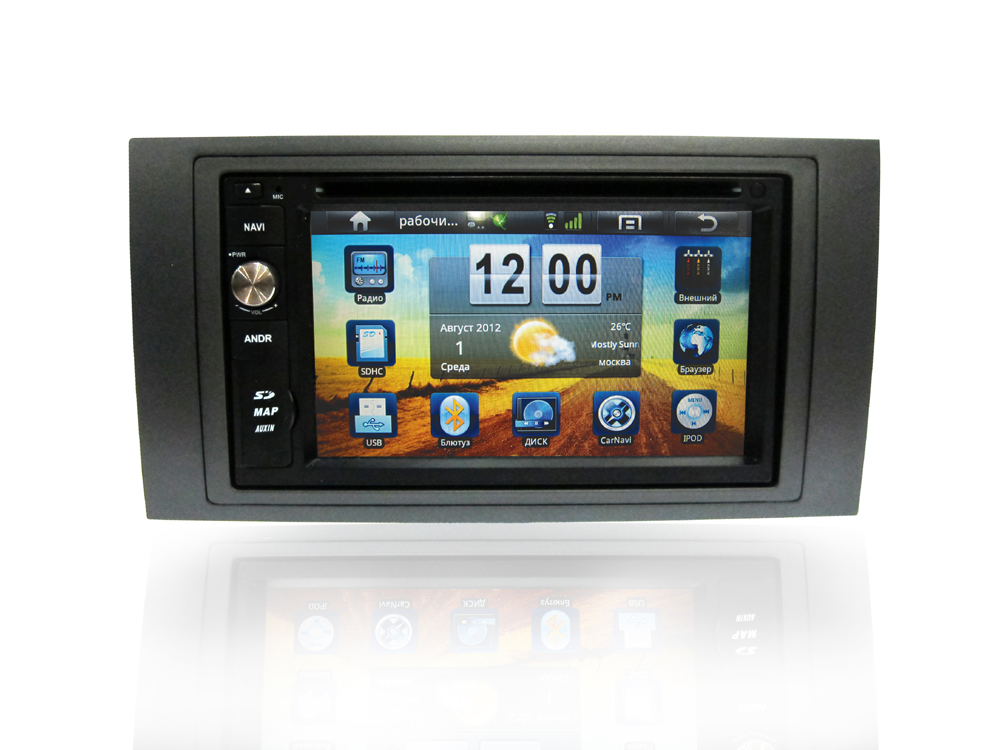 NaviPilot Ford Focus 2,C-Max,S-Max,Fusion,  Fiesta 05+;S-Max,Transit,Galaxy 06-07 Android