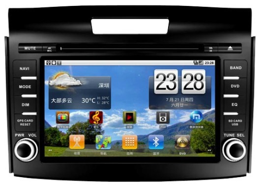 Carit Honda CR-V 2012- Android
