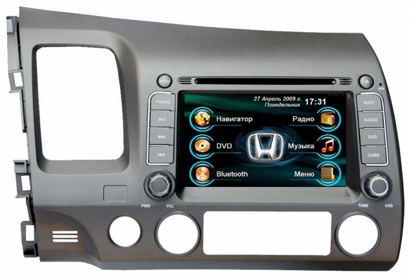 Intro CHR-3701 Honda Civic 4D 2006-2011  Windows