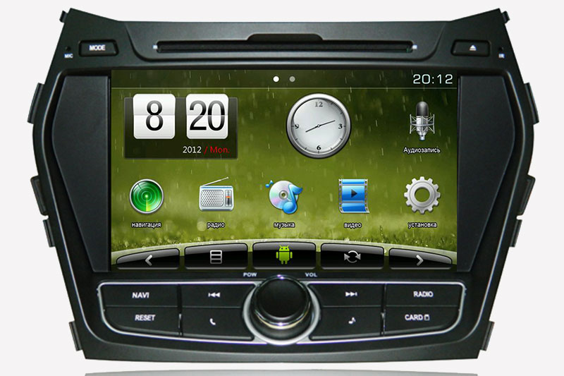 Trinity Hyundai Santa Fe 3  Android + Windows