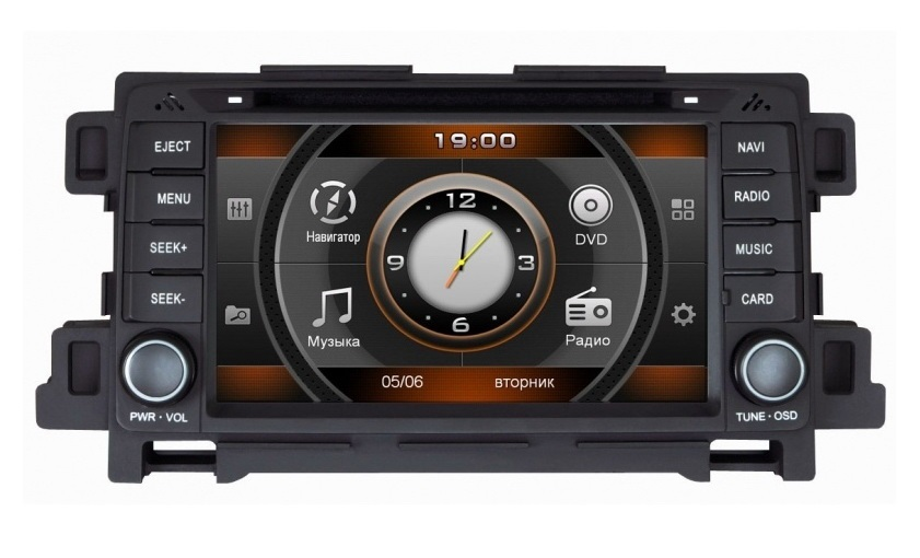 Intro CHR-4655 M5 Mazda 6 2013-, CX-5 2012- Windows