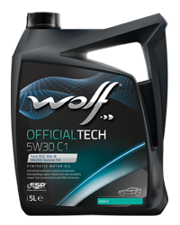WOLF OFFICIALTECH 5W30 C1 4L FORD 8307812